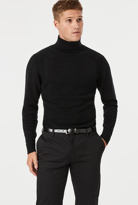 Roni Turtleneck, Black, hi-res